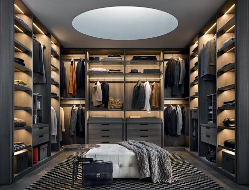 9 idee per progettare la tua cabina armadio